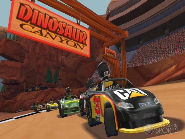 NASCAR Kart Racing Screenshot #20 for Wii