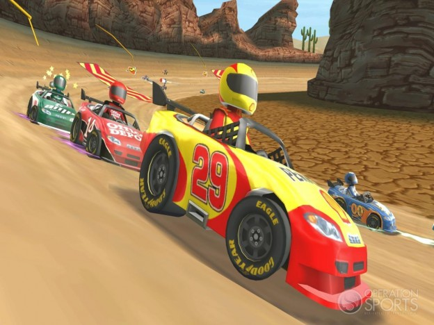 NASCAR Kart Racing Screenshot #21 for Wii