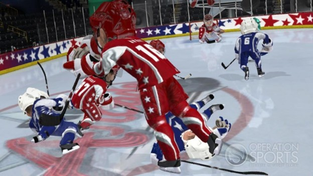 3 on 3 NHL Arcade Screenshot #1 for Xbox 360