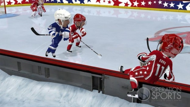 3 on 3 NHL Arcade Screenshot #2 for Xbox 360