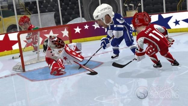 3 on 3 NHL Arcade Screenshot #5 for Xbox 360