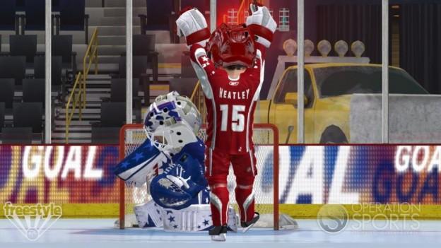 3 on 3 NHL Arcade Screenshot #8 for Xbox 360
