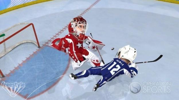 3 on 3 NHL Arcade Screenshot #9 for Xbox 360