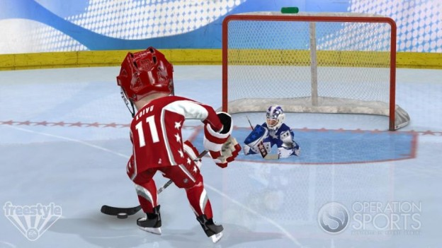 3 on 3 NHL Arcade Screenshot #11 for Xbox 360