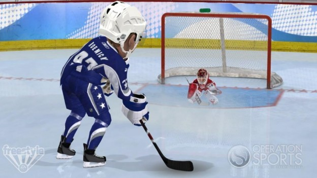 3 on 3 NHL Arcade Screenshot #13 for Xbox 360