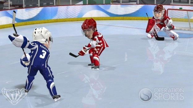 3 on 3 NHL Arcade Screenshot #22 for Xbox 360