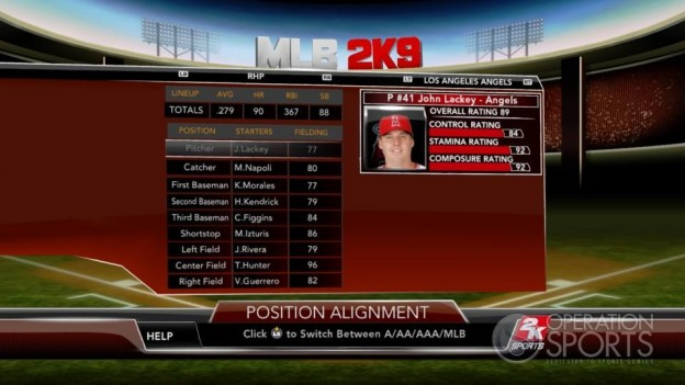 Major League Baseball 2K9 Screenshot #65 for Xbox 360