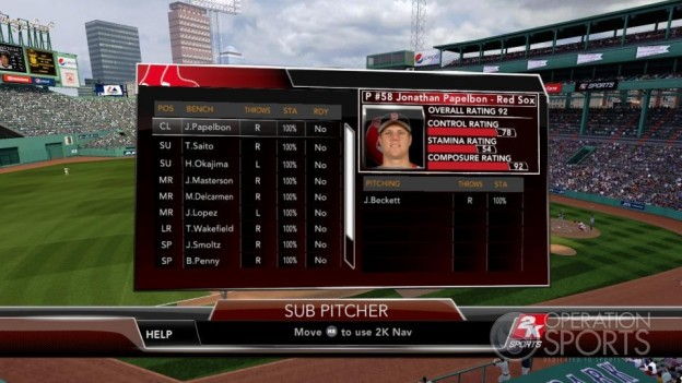 Major League Baseball 2K9 Screenshot #69 for Xbox 360