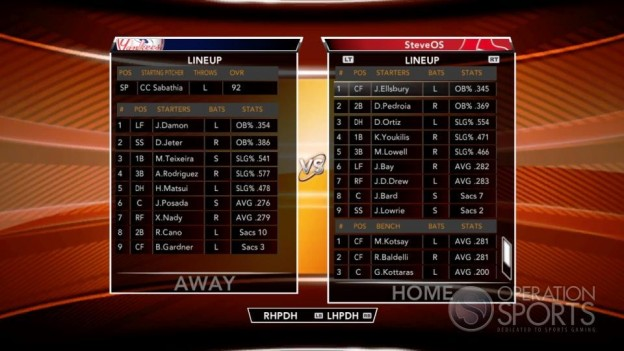 Major League Baseball 2K9 Screenshot #81 for Xbox 360