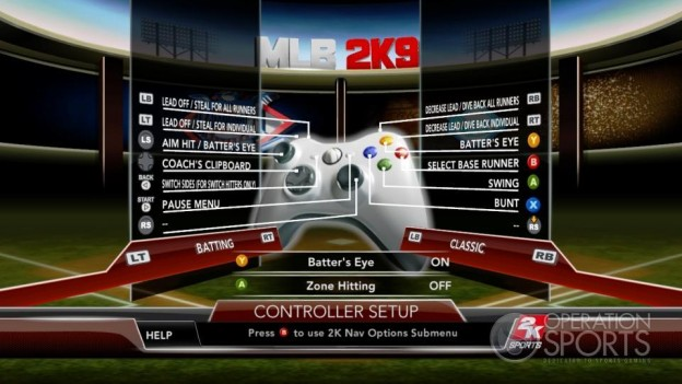 Major League Baseball 2K9 Screenshot #106 for Xbox 360