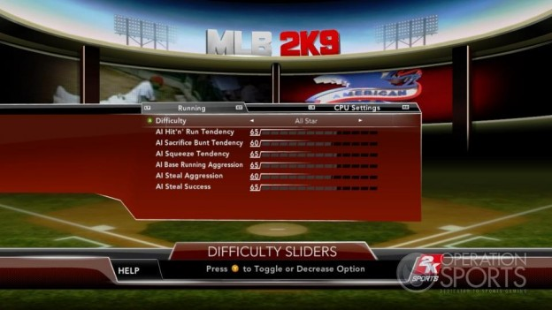 Major League Baseball 2K9 Screenshot #112 for Xbox 360