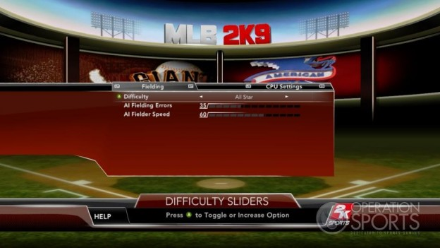 Major League Baseball 2K9 Screenshot #113 for Xbox 360