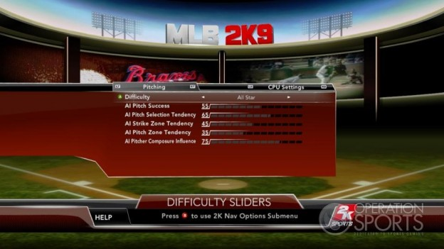 Major League Baseball 2K9 Screenshot #114 for Xbox 360