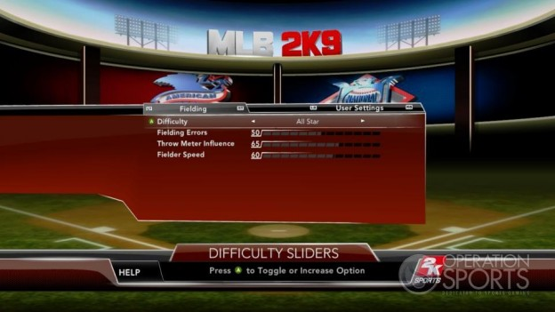 Major League Baseball 2K9 Screenshot #117 for Xbox 360