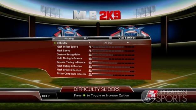 Major League Baseball 2K9 Screenshot #118 for Xbox 360