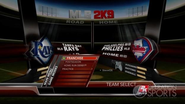 Major League Baseball 2K9 Screenshot #120 for Xbox 360