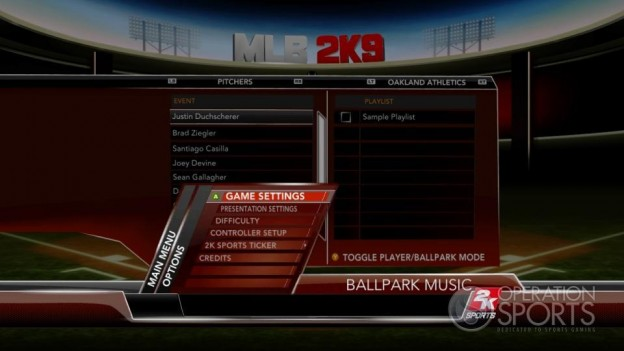 Major League Baseball 2K9 Screenshot #126 for Xbox 360