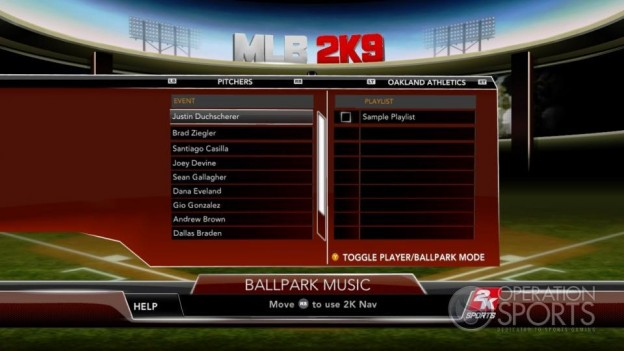 Major League Baseball 2K9 Screenshot #127 for Xbox 360