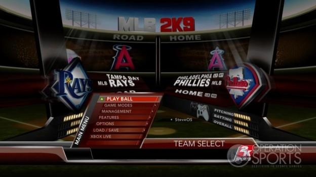 Major League Baseball 2K9 Screenshot #131 for Xbox 360