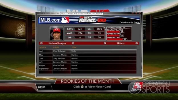 Major League Baseball 2K9 Screenshot #133 for Xbox 360