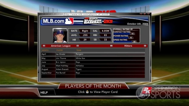 Major League Baseball 2K9 Screenshot #135 for Xbox 360