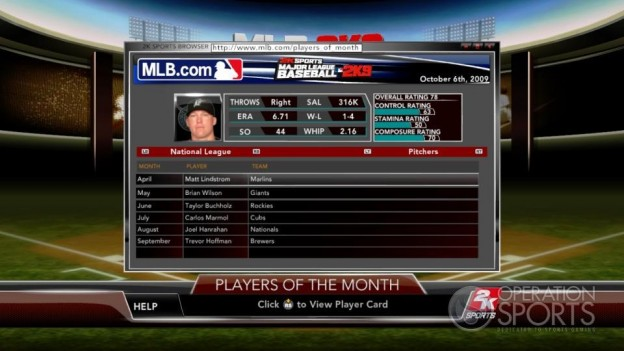 Major League Baseball 2K9 Screenshot #137 for Xbox 360