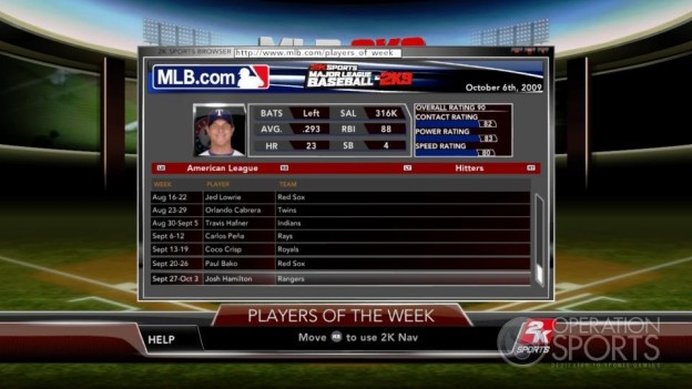 Major League Baseball 2K9 Screenshot #139 for Xbox 360