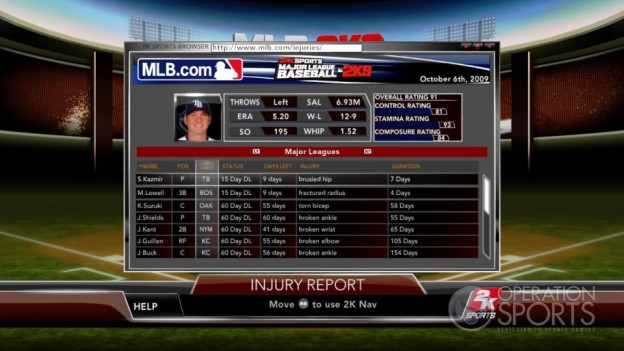 Major League Baseball 2K9 Screenshot #140 for Xbox 360
