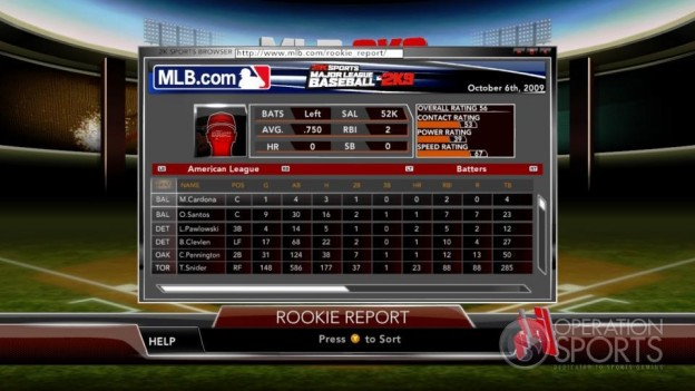 Major League Baseball 2K9 Screenshot #142 for Xbox 360