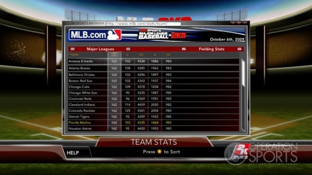 Major League Baseball 2K9 Screenshot #146 for Xbox 360