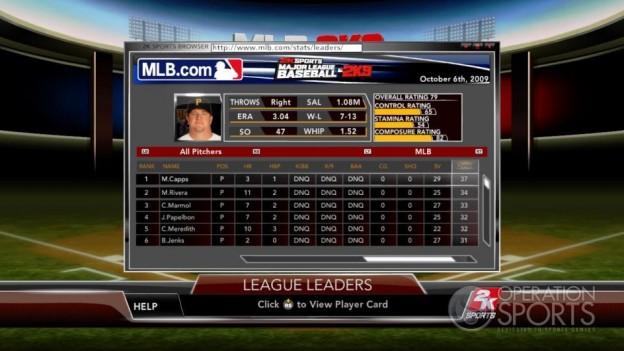 Major League Baseball 2K9 Screenshot #152 for Xbox 360