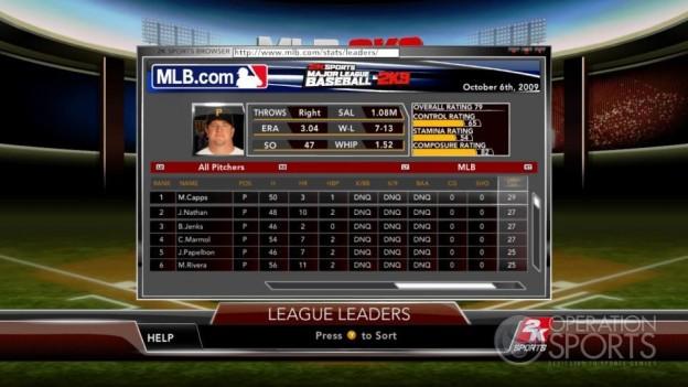 Major League Baseball 2K9 Screenshot #153 for Xbox 360