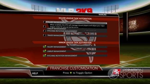 Major League Baseball 2K9 Screenshot #154 for Xbox 360