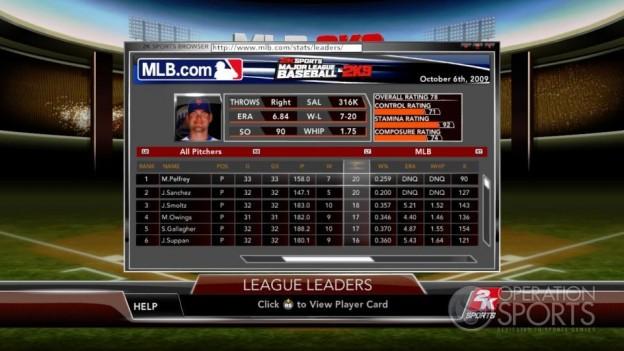 Major League Baseball 2K9 Screenshot #169 for Xbox 360