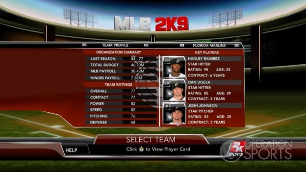 Major League Baseball 2K9 Screenshot #176 for Xbox 360