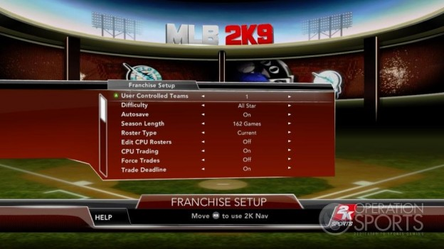 Major League Baseball 2K9 Screenshot #190 for Xbox 360