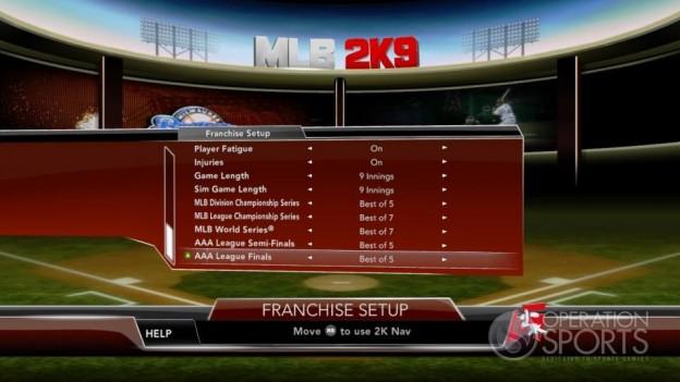 Major League Baseball 2K9 Screenshot #198 for Xbox 360