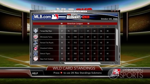 Major League Baseball 2K9 Screenshot #201 for Xbox 360