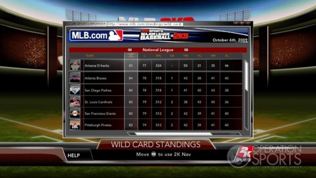 Major League Baseball 2K9 Screenshot #202 for Xbox 360