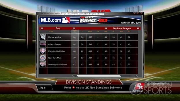 Major League Baseball 2K9 Screenshot #205 for Xbox 360
