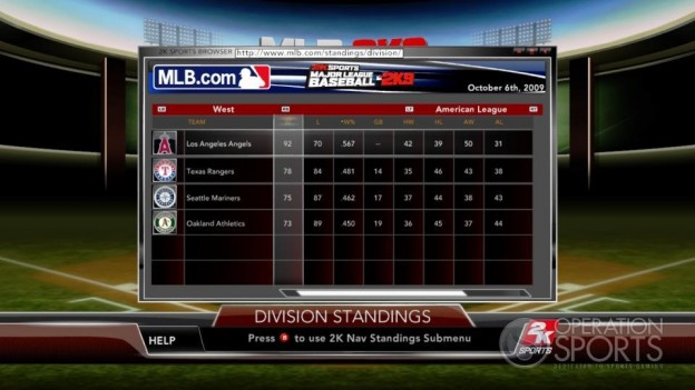 Major League Baseball 2K9 Screenshot #206 for Xbox 360
