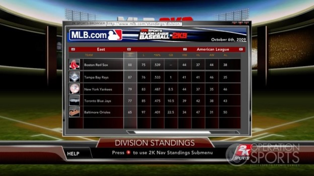 Major League Baseball 2K9 Screenshot #208 for Xbox 360