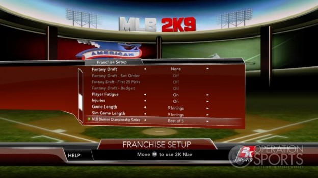 Major League Baseball 2K9 Screenshot #209 for Xbox 360