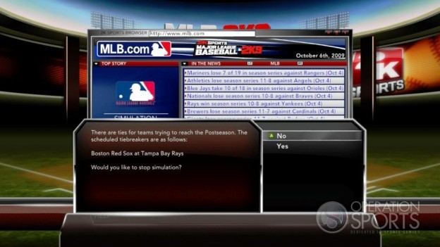 Major League Baseball 2K9 Screenshot #213 for Xbox 360