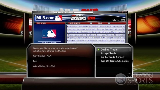 Major League Baseball 2K9 Screenshot #214 for Xbox 360