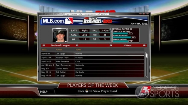 Major League Baseball 2K9 Screenshot #215 for Xbox 360