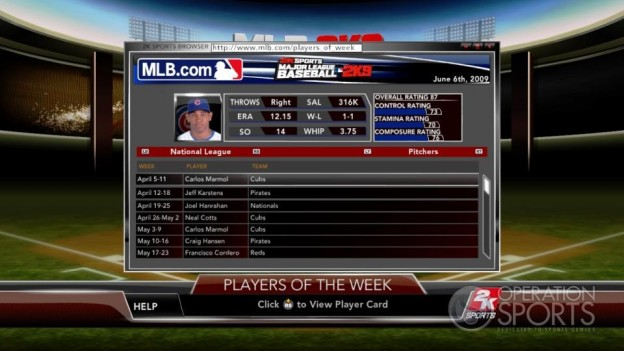 Major League Baseball 2K9 Screenshot #216 for Xbox 360
