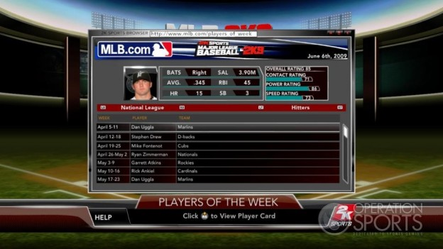 Major League Baseball 2K9 Screenshot #217 for Xbox 360