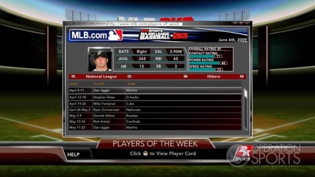 Major League Baseball 2K9 Screenshot #217 for Xbox 360