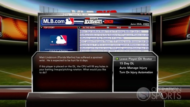 Major League Baseball 2K9 Screenshot #219 for Xbox 360